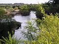 """Río Santa Lucía, 25 de Agosto, vista del """"puente chico"""".JPG"""