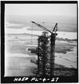 REMOVAL OF SWING ARM 9. - Mobile Launcher One, Kennedy Space Center, Titusville, Brevard County, FL HAER FLA,5-TIVI.V,1-27.tif
