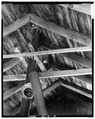 ROOF RAFTERS - Plante Grist Mill, U.S. Route 44, Chepachet, Providence County, RI HAER RI,4-CHEP,2A-15.tif