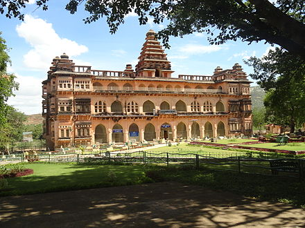 Rajmahal of Chandragiri Fort Raaja mahal 1.JPG