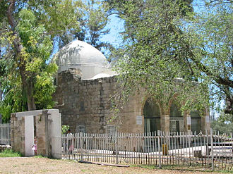 Gamaliel II - Another view of the tomb in Yavneh