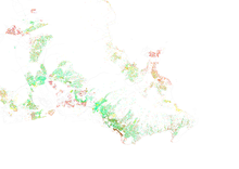 Map Of Racial Distribution In Honolulu 2010 U S Census Each Dot Is 25 People White Black Asian Hispanic Or Other Yellow