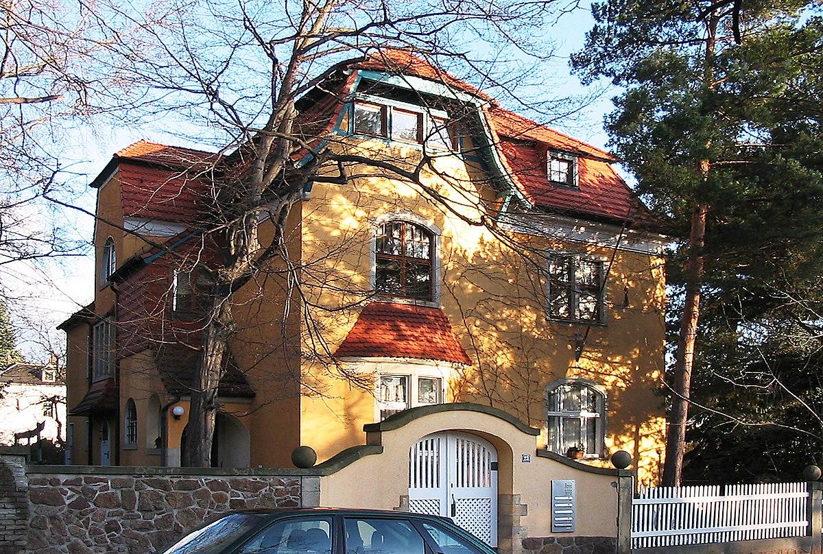 Landhaus eduard bilz stra e 23 radebeul wikipedia - Architekt radebeul ...