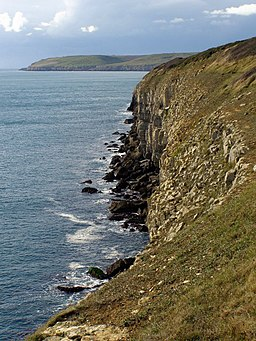 Ragged rocks, Durlston Country Park - geograph.org.uk - 1027170
