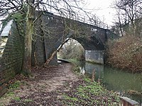 Railway Bridge at Coningsby - geograph.org.uk - 102197.jpg