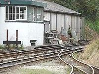 Railway lines, Pendre - geograph.org.uk - 1581093.jpg
