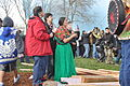 Raising John T. Williams Memorial Totem Pole 200.jpg
