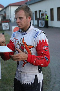 Karl Kruuda Estonian rally driver
