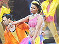 Rakhi Sawant in Madhuri Dixit's getup.jpg