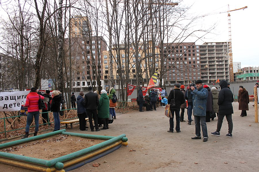 Rally for the termination of construction and restoration of the square (2018;11;17) 21.jpg