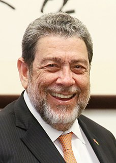 Ralph Gonsalves Prime Minister of Saint Vincent and the Grenadines