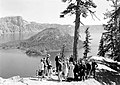 Ranger Naturalist with party of visitors on the rim of Crater Lake National Park. (9d65030d4583486a9b1656f3389ab3a0).jpg