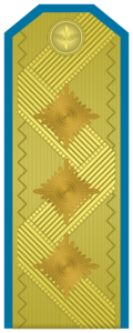 Rank insignia of Генерал-лейтенант of the Bulgarian Air forces.png