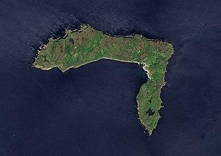 Rathlin Island Human settlement in Northern Ireland