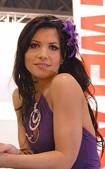 Rebeca Linares at AVN Adult Entertainment Expo 2009.jpg