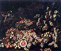 Recco, Giuseppe - Fiori e cacciagione - c. 1670.jpg
