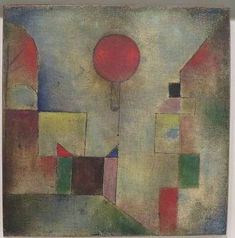 Solomon R. Guggenheim Foundation - Red Balloon by Paul Klee