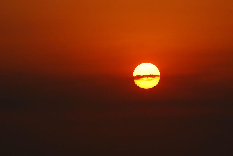 File:Red fire sunrise.jpg