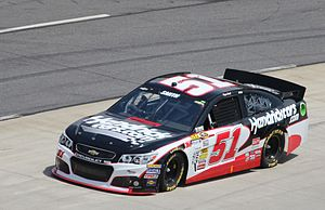 Regan Smith - Smith driving the No. 51 during the 2013 STP Gas Booster 500