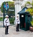 Regimiento Primero de Infantería de la Guardia Real, Gran Palacio, Bangkok, Tailandia, 2013-08-22, DD 05.JPG