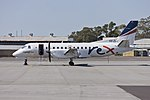 Regional Express Airlines (VH-ZLJ) Saab 340B parked on the tarmac at Wagga Wagga Airport.jpg
