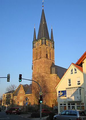 Reilingen - Catholic church