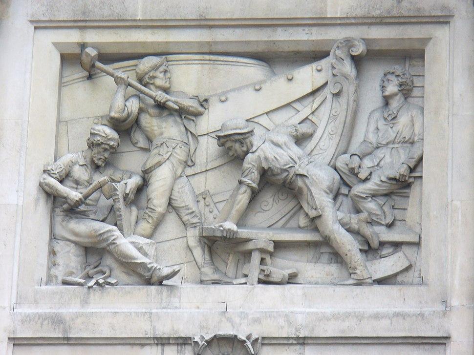 Relief on building in Bishopsgate, London 2