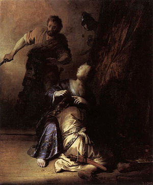Rembrandt - Samson and Delilah - WGA19098