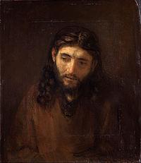 Rembrandt Harmensz. van Rijn, Dutch (active Leiden and Amsterdam) - Head of Christ - Google Art Project.jpg