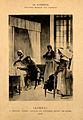 René Théophile Hyacinthe Laënnec auscultating a tubercular p Wellcome V0006754.jpg