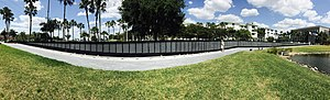 Punta Gorda, Florida - Veterans Memorial in Punta Gorda, Florida