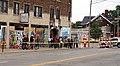 Residents of Kenosha line up to see President Trump's motorcade.jpg