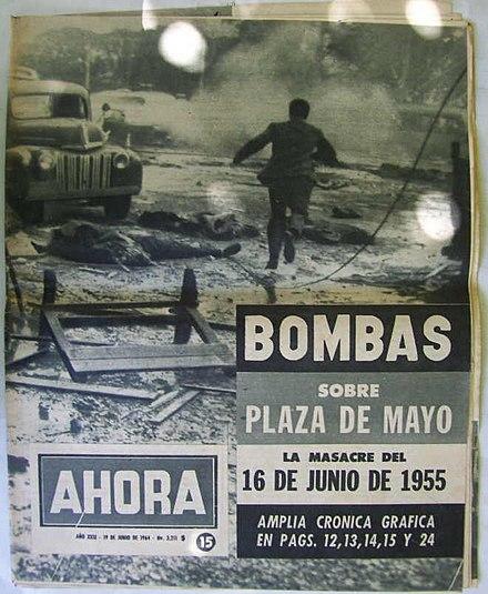 A 60 años del bombardeo a la Casa Rosada