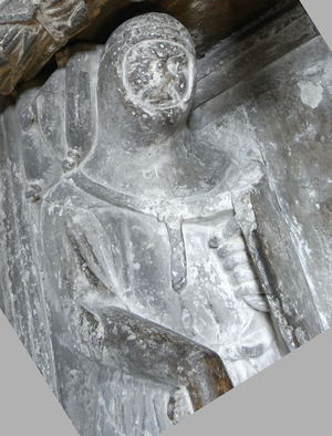 Richard Stapledon - Sir Richard de Stapledon, detail from his effigy in Exeter Cathedral