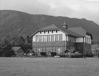 Sitka Fine Arts Camp - Sheldon Jackson College's Richard Allen Memorial Hall