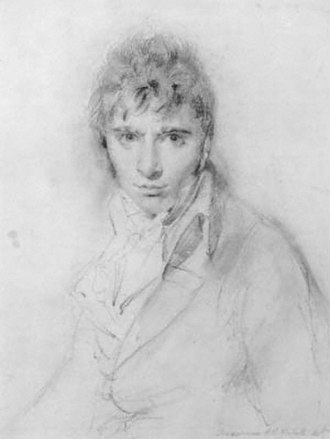 Richard Westall - Portrait by Thomas Lawrence