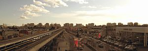 Richmond, British Columbia - View of Downtown Richmond taken from Aberdeen Station