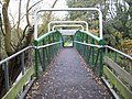 Rickmansworth, Footbridge over the River Colne - geograph.org.uk - 1030078.jpg