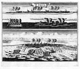 [Evento] Gran Guerra del Norte 275px-Riga_plan_by_DEWITT_-_GMII