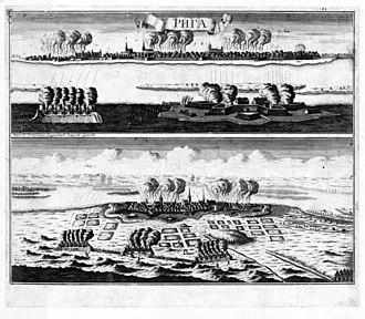 Capitulation of Estonia and Livonia - Siege of Riga (1710)