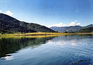 Rih Dil lake in Chin State, Myanmar