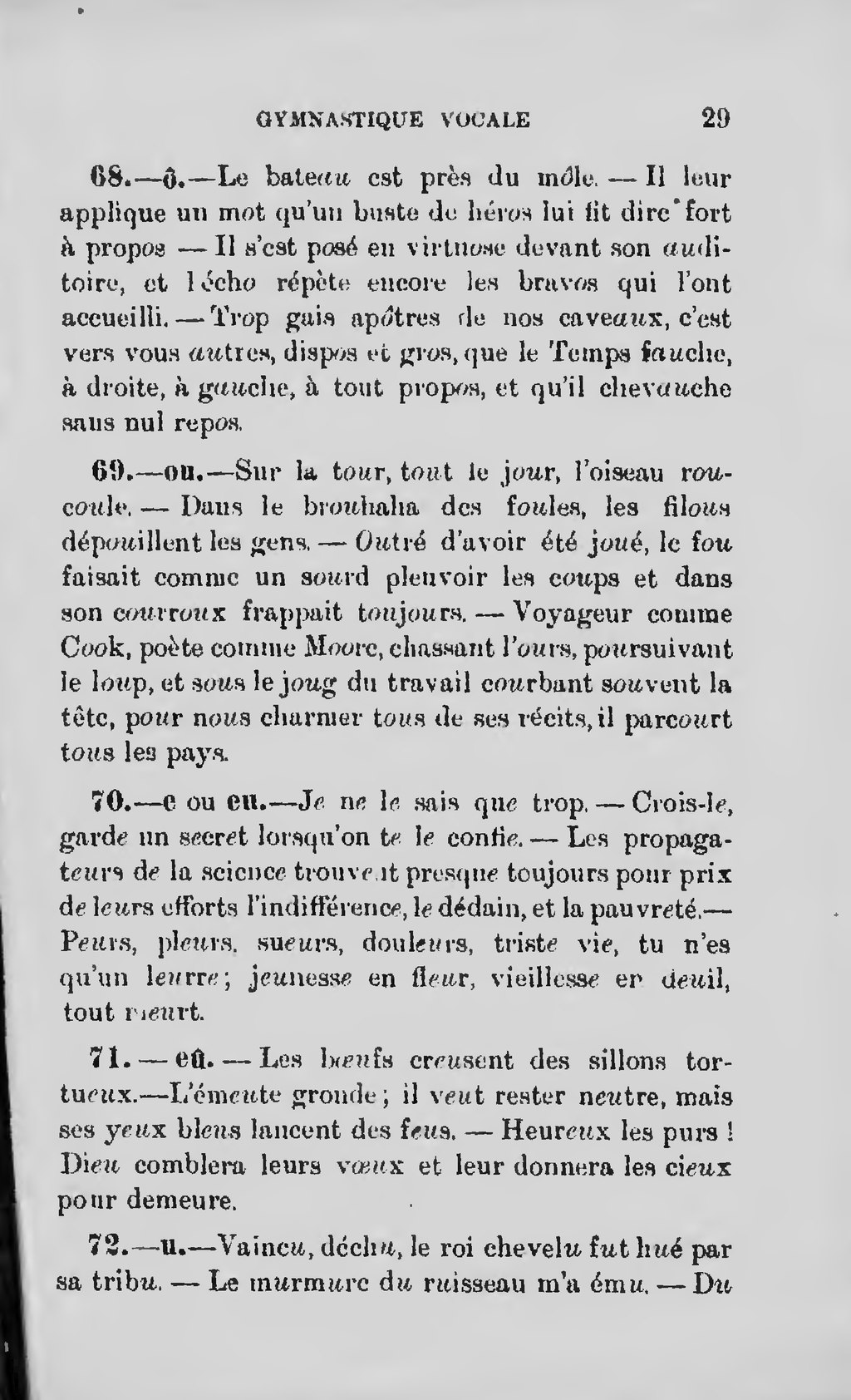Page Rivard Manuel De La Parole Traite De Prononciation 1901