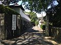 Road for headquarters of Mokuseikai in Kurume, Fukuoka.jpg
