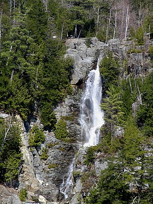 Keene, New York - Roaring Brook Falls, on the Giant Mountain trail, near St. Huberts