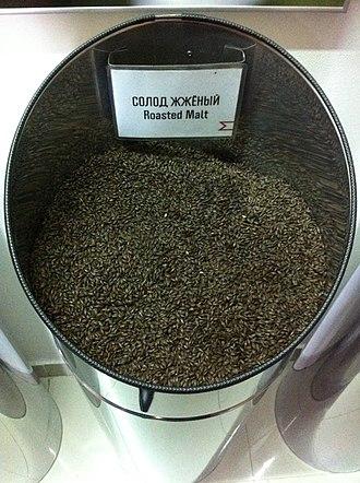 Malting process - Roasted malt