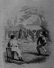 Robert William Buss - The Pickwick Papers, a game of cricket.jpg