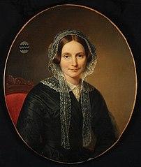 Portret van Henriëtte Elisabeth Van Reede van Oudtshoorn (1811-1857)
