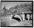 Rocky Creek Bridge, Spanning Rocky Creek on Oregon Coast Highway (U.S. Route 101), Depoe Bay, Lincoln County, OR HAER OR-111-22.tif