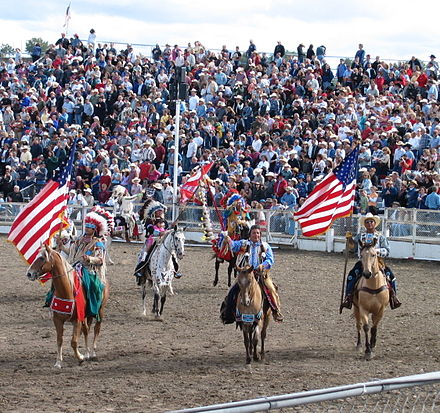 Grand Entry at the Pendleton Round-Up RodeoNatives.jpg