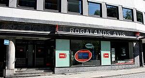 Rogalands Avis - Rogalands Avis building in Stavanger
